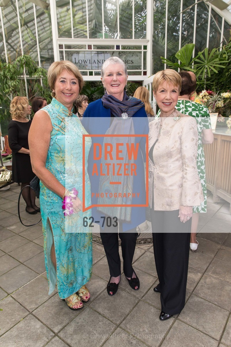 Terry Nevin, Pat Hanson-Thomson, Martha Woollomes, CONSERVATORY OF FLOWERS Presents