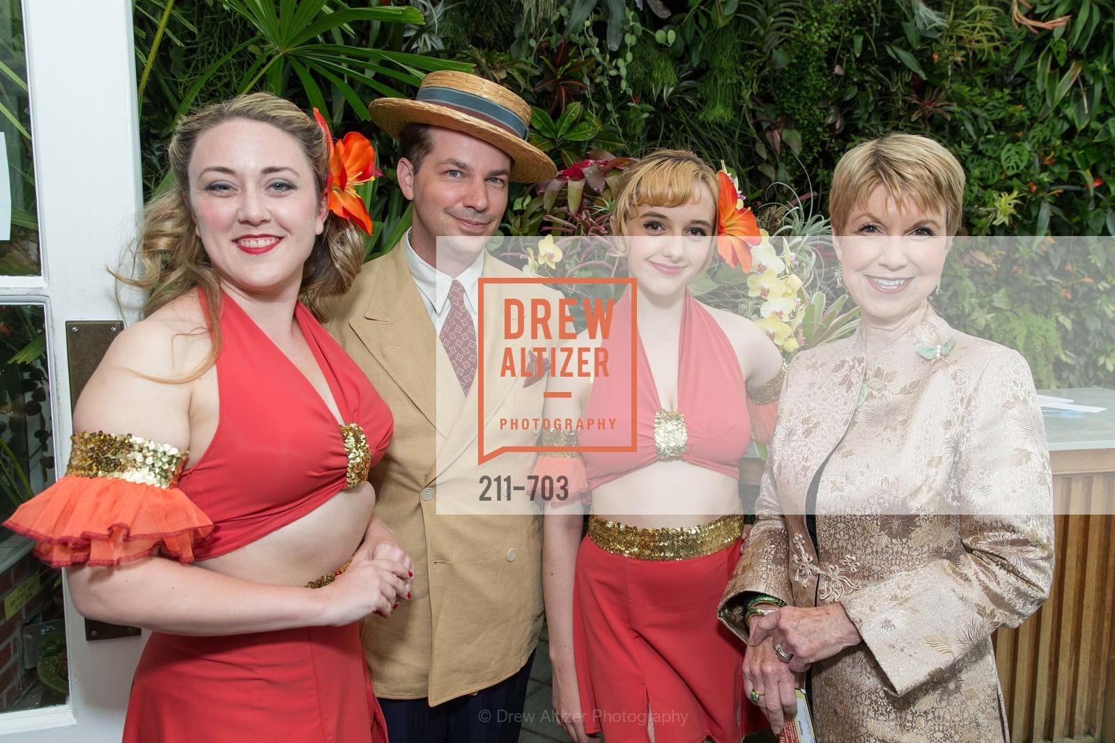 Liz Elted, Sam Simmons, Katrina Koertch, Martha Woollomes, CONSERVATORY OF FLOWERS Presents