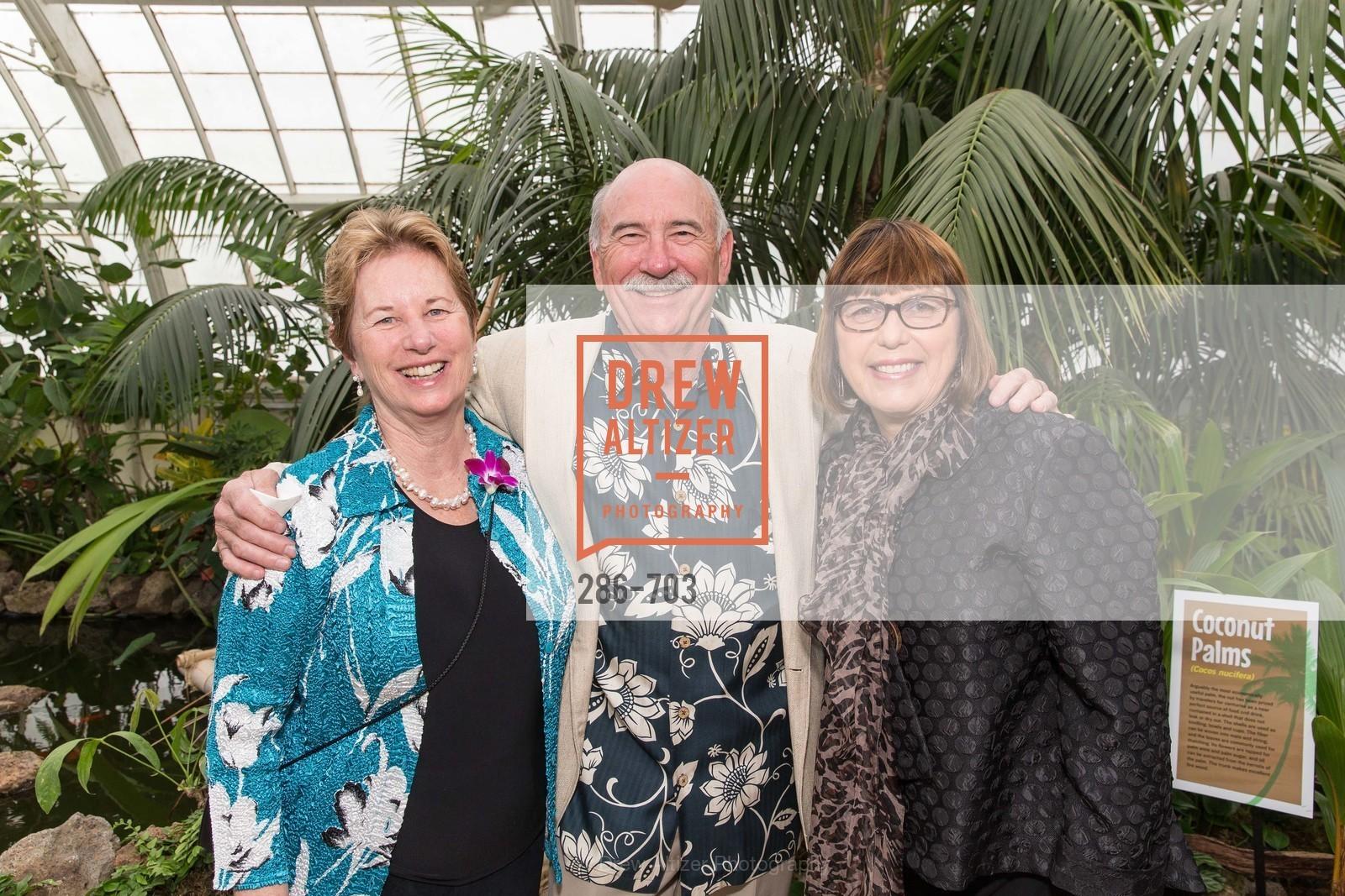 Barbara Derich, Jim Derich, Sheila Bertram, CONSERVATORY OF FLOWERS Presents