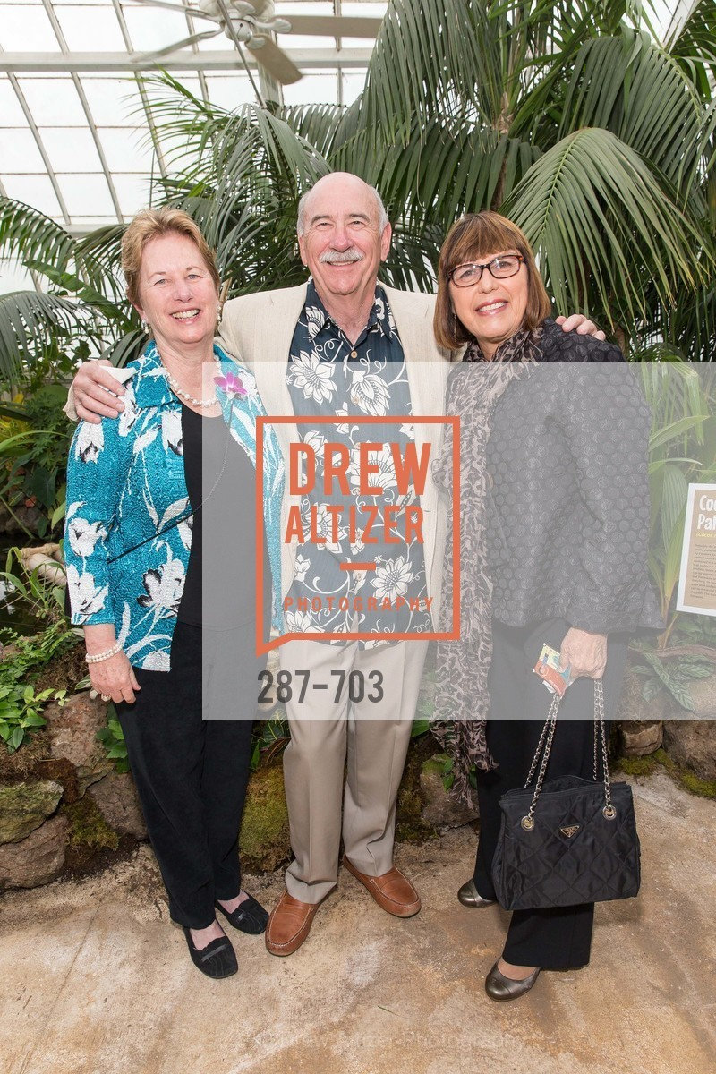 Barbara Derich, Jim Derich, Sheila Bertram, CONSERVATORY OF FLOWERS Presents