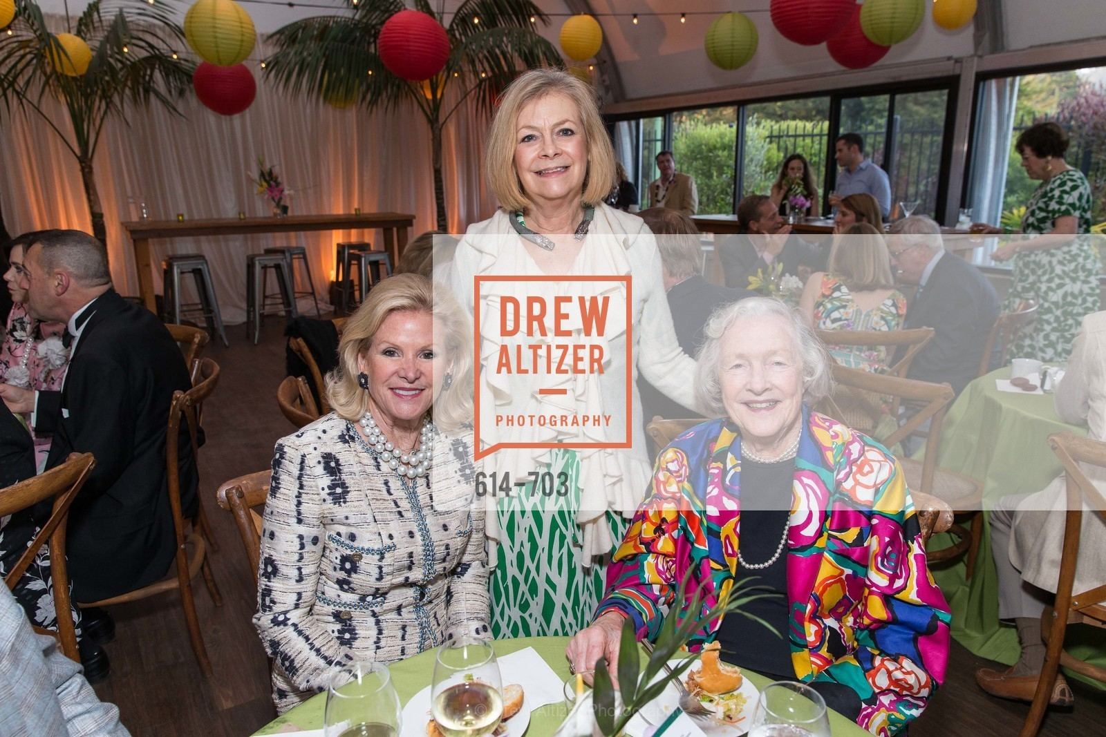 Dede Wilsey, Laine Buckingham, Marianne Peterson, CONSERVATORY OF FLOWERS Presents