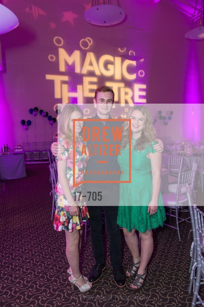 Ellie Sachs, Wyatt Smith, Hilary Flynn, MAGIC THEATRE'S 2015 Gala:  A Night of Magic, US, May 7th, 2015,Drew Altizer, Drew Altizer Photography, full-service agency, private events, San Francisco photographer, photographer california