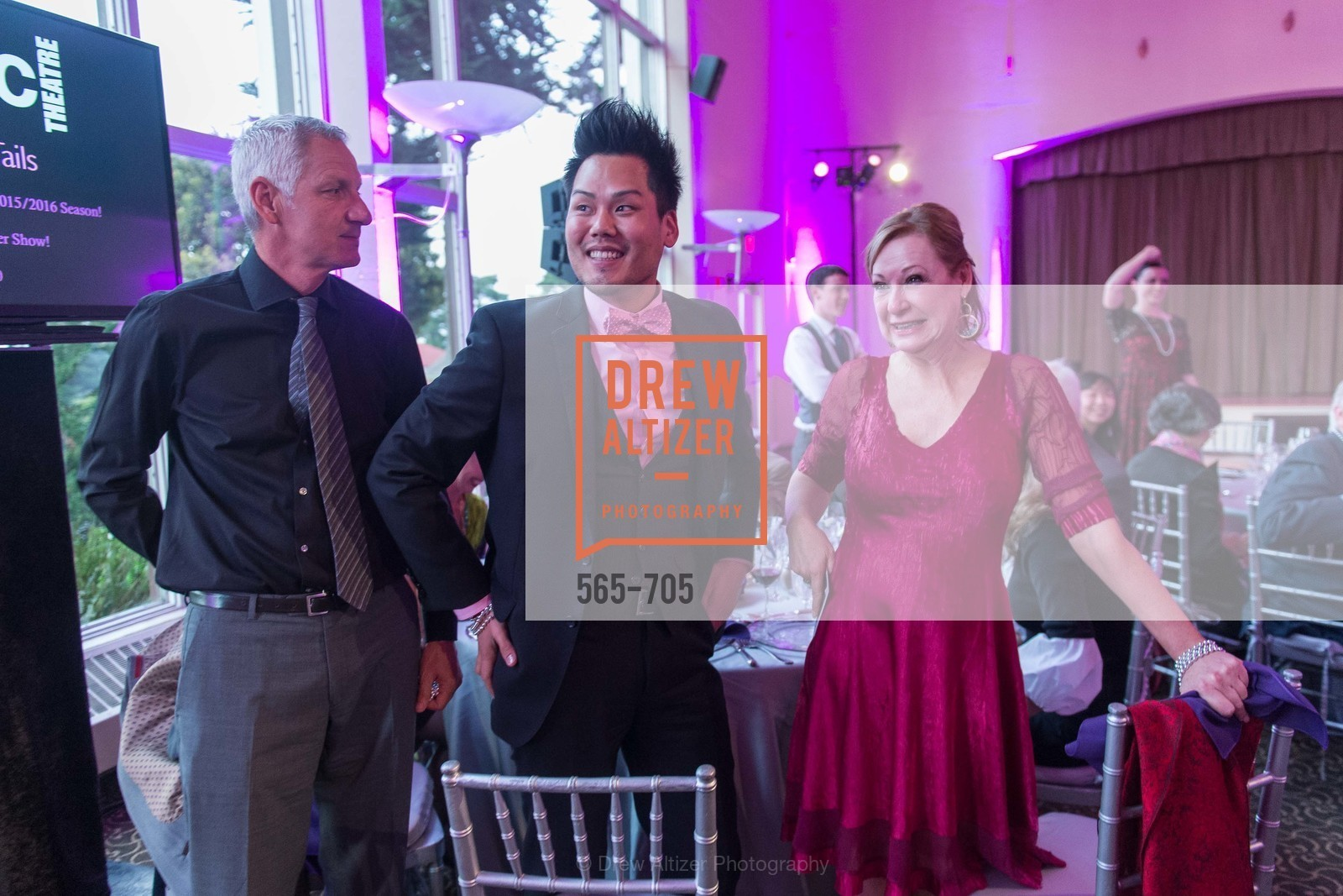 Christopher Lee, Susan Thompson, MAGIC THEATRE'S 2015 Gala:  A Night of Magic, US, May 7th, 2015,Drew Altizer, Drew Altizer Photography, full-service agency, private events, San Francisco photographer, photographer california