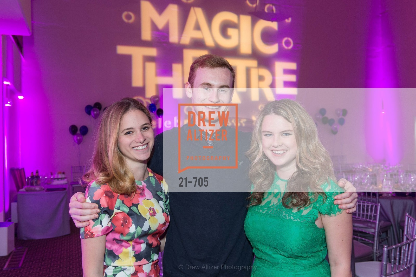 Ellie Sachs, Wyatt Smith, Hilary Flynn, MAGIC THEATRE'S 2015 Gala:  A Night of Magic, US, May 8th, 2015,Drew Altizer, Drew Altizer Photography, full-service agency, private events, San Francisco photographer, photographer california