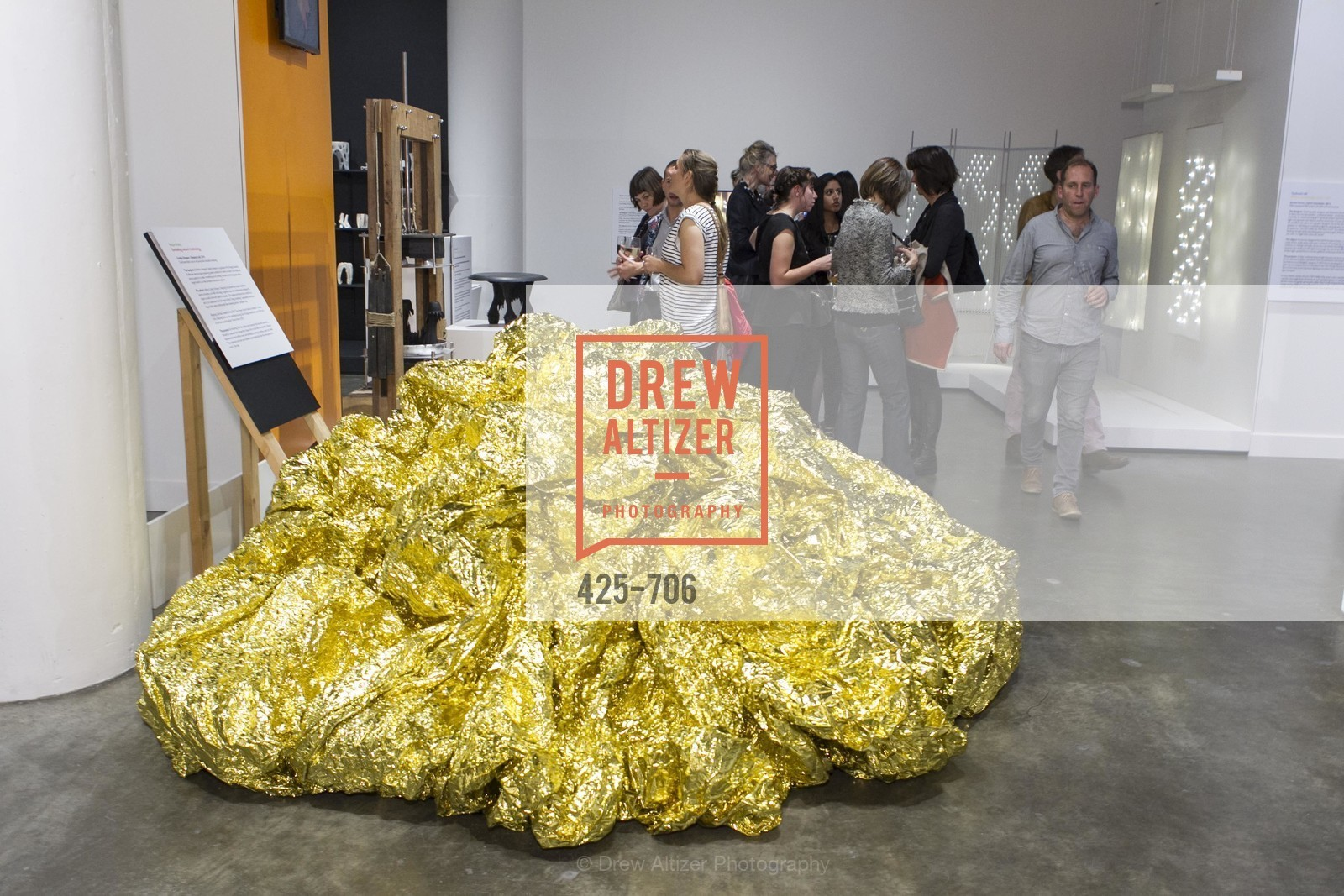 Atmosphere, Exhibit Opening at the MUSEUM OF CRAFT AND DESIGN - Hands Off: New Dutch Design at the Confluence of Technology & Craft, US, May 7th, 2015,Drew Altizer, Drew Altizer Photography, full-service agency, private events, San Francisco photographer, photographer california