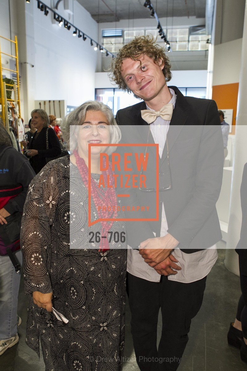 JoAnn Edwards, Borre Akkerszijk, Exhibit Opening at the MUSEUM OF CRAFT AND DESIGN - Hands Off: New Dutch Design at the Confluence of Technology & Craft, US, May 8th, 2015,Drew Altizer, Drew Altizer Photography, full-service agency, private events, San Francisco photographer, photographer california