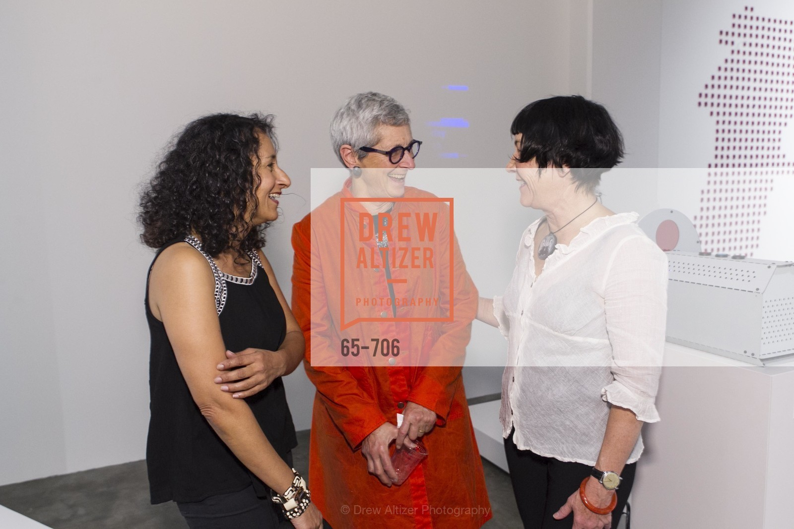 Tasneem Karimbhai, Marion Brenner, Amy van Every, Exhibit Opening at the MUSEUM OF CRAFT AND DESIGN - Hands Off: New Dutch Design at the Confluence of Technology & Craft, US, May 7th, 2015,Drew Altizer, Drew Altizer Photography, full-service agency, private events, San Francisco photographer, photographer california