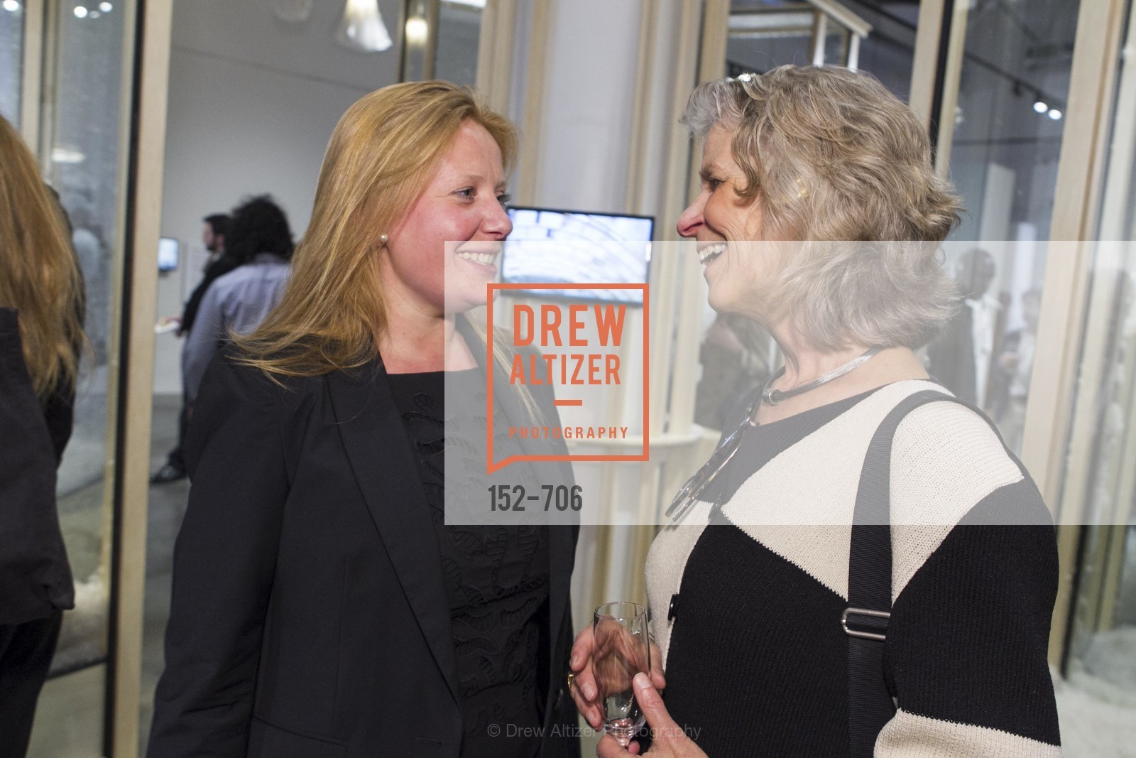 Claire Jacobs, Karen Hibma, Exhibit Opening at the MUSEUM OF CRAFT AND DESIGN - Hands Off: New Dutch Design at the Confluence of Technology & Craft, US, May 8th, 2015,Drew Altizer, Drew Altizer Photography, full-service agency, private events, San Francisco photographer, photographer california