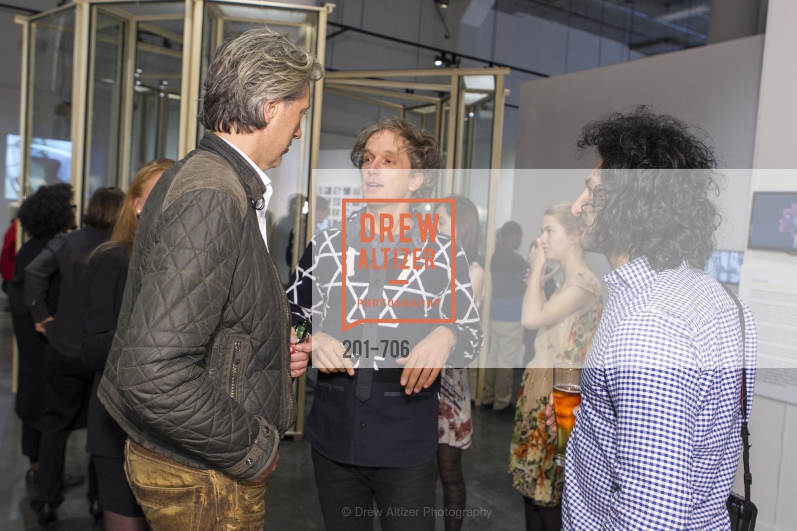 Marcel Wanders, Yves Behar, Massoud Hassani, Exhibit Opening at the MUSEUM OF CRAFT AND DESIGN - Hands Off: New Dutch Design at the Confluence of Technology & Craft, US, May 8th, 2015,Drew Altizer, Drew Altizer Photography, full-service agency, private events, San Francisco photographer, photographer california
