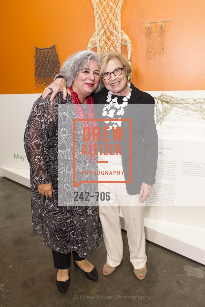 JoAnn Edwards, Dorothy Saxe, Exhibit Opening at the MUSEUM OF CRAFT AND DESIGN - Hands Off: New Dutch Design at the Confluence of Technology & Craft, US, May 8th, 2015,Drew Altizer, Drew Altizer Photography, full-service agency, private events, San Francisco photographer, photographer california