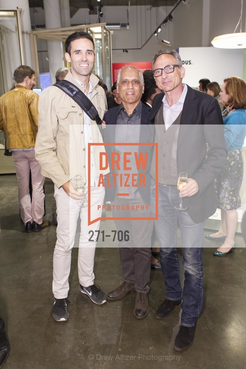 Charley Carroll, Zahid Sardar, Paul Burditch, Exhibit Opening at the MUSEUM OF CRAFT AND DESIGN - Hands Off: New Dutch Design at the Confluence of Technology & Craft, US, May 8th, 2015,Drew Altizer, Drew Altizer Photography, full-service agency, private events, San Francisco photographer, photographer california