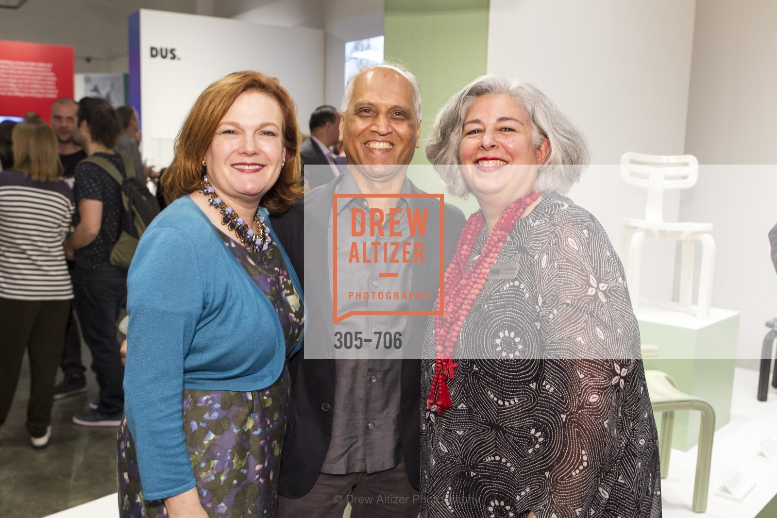Jennifer Raiser, Zahid Sardar, JoAnn Edwards, Exhibit Opening at the MUSEUM OF CRAFT AND DESIGN - Hands Off: New Dutch Design at the Confluence of Technology & Craft, US, May 8th, 2015,Drew Altizer, Drew Altizer Photography, full-service agency, private events, San Francisco photographer, photographer california