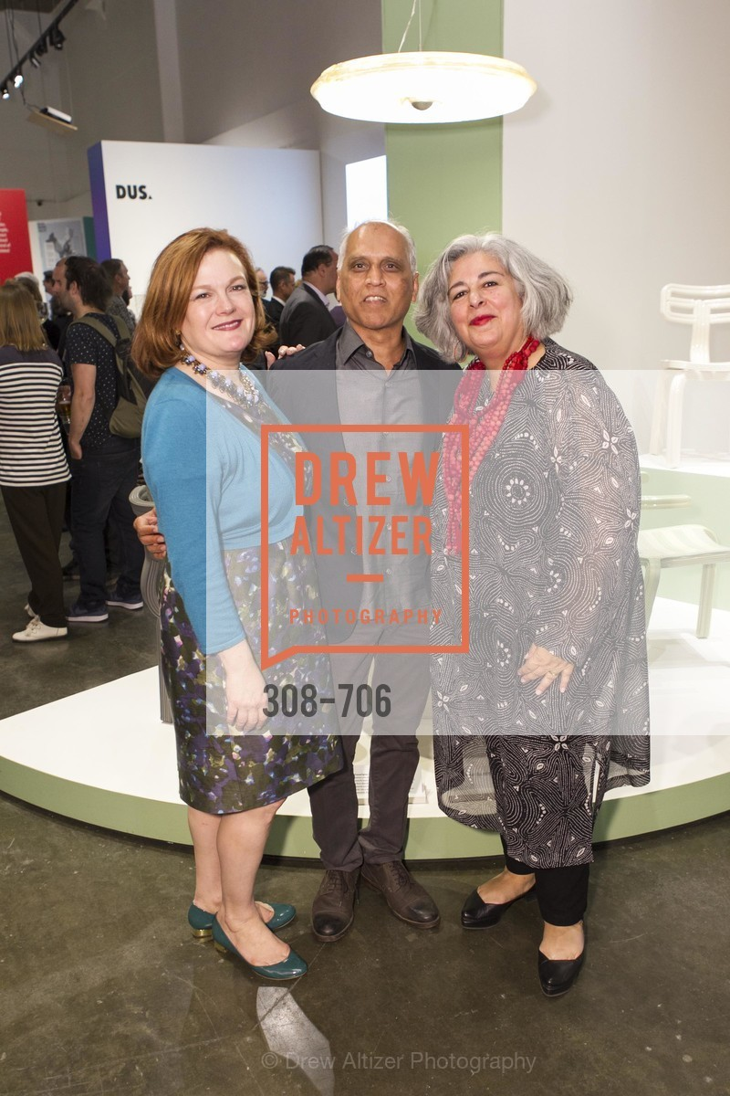 Jennifer Raiser, Zahid Sardar, JoAnn Edwards, Exhibit Opening at the MUSEUM OF CRAFT AND DESIGN - Hands Off: New Dutch Design at the Confluence of Technology & Craft, US, May 7th, 2015,Drew Altizer, Drew Altizer Photography, full-service agency, private events, San Francisco photographer, photographer california