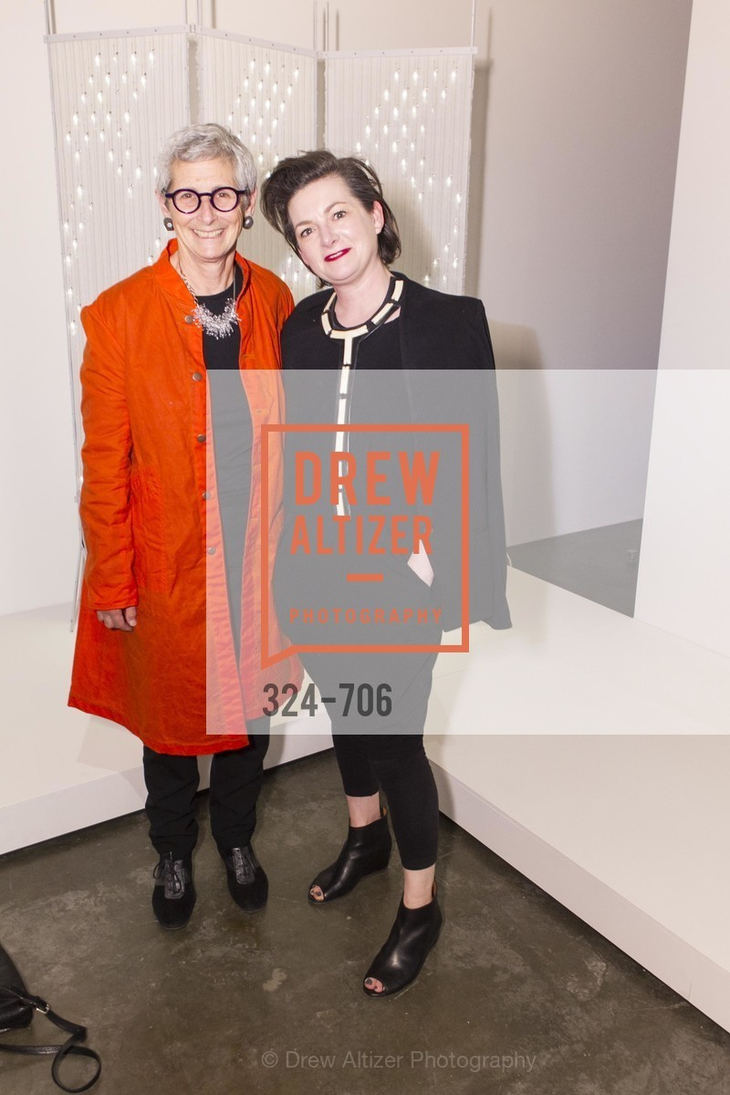 Marion Brenner, Alisa Carroll, Exhibit Opening at the MUSEUM OF CRAFT AND DESIGN - Hands Off: New Dutch Design at the Confluence of Technology & Craft, US, May 8th, 2015,Drew Altizer, Drew Altizer Photography, full-service agency, private events, San Francisco photographer, photographer california