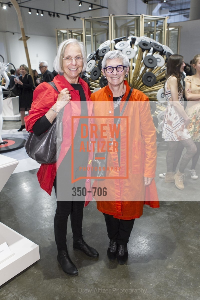 Alta Tingle, Marion Brenner, Exhibit Opening at the MUSEUM OF CRAFT AND DESIGN - Hands Off: New Dutch Design at the Confluence of Technology & Craft, US, May 8th, 2015,Drew Altizer, Drew Altizer Photography, full-service agency, private events, San Francisco photographer, photographer california