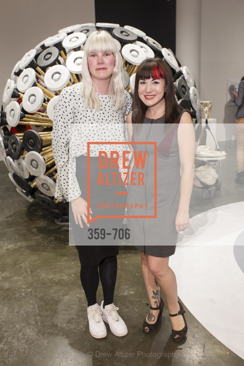 Anne Kolkman, Ariel Zaccheo, Exhibit Opening at the MUSEUM OF CRAFT AND DESIGN - Hands Off: New Dutch Design at the Confluence of Technology & Craft, US, May 8th, 2015,Drew Altizer, Drew Altizer Photography, full-service agency, private events, San Francisco photographer, photographer california