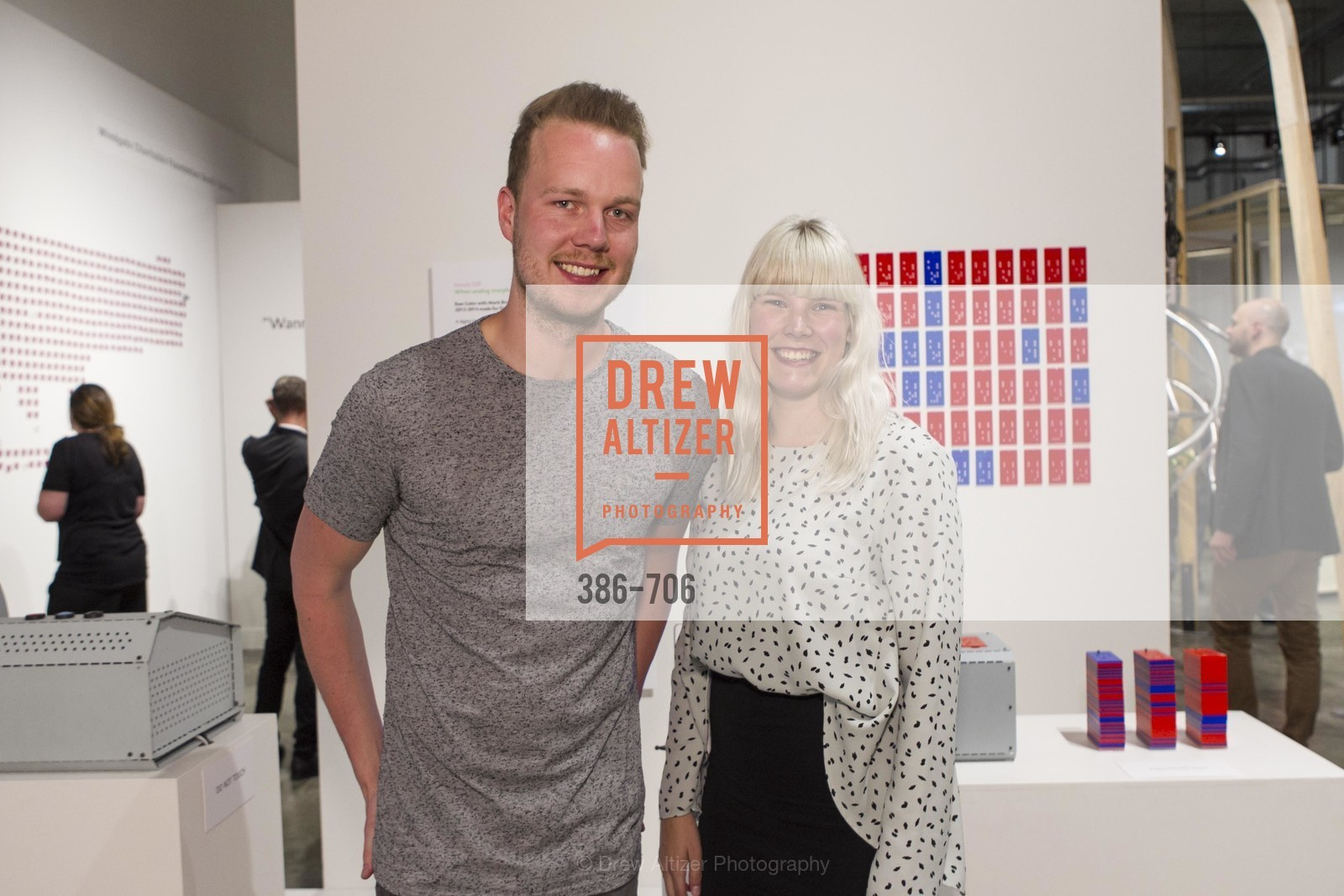 Wouter Hillen, Anne Kolkman, Exhibit Opening at the MUSEUM OF CRAFT AND DESIGN - Hands Off: New Dutch Design at the Confluence of Technology & Craft, US, May 8th, 2015,Drew Altizer, Drew Altizer Photography, full-service agency, private events, San Francisco photographer, photographer california