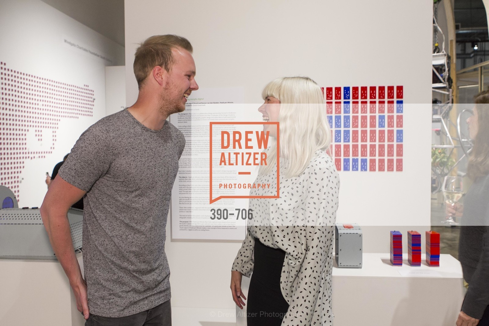 Wouter Hillen, Anne Kolkman, Exhibit Opening at the MUSEUM OF CRAFT AND DESIGN - Hands Off: New Dutch Design at the Confluence of Technology & Craft, US, May 7th, 2015,Drew Altizer, Drew Altizer Photography, full-service agency, private events, San Francisco photographer, photographer california