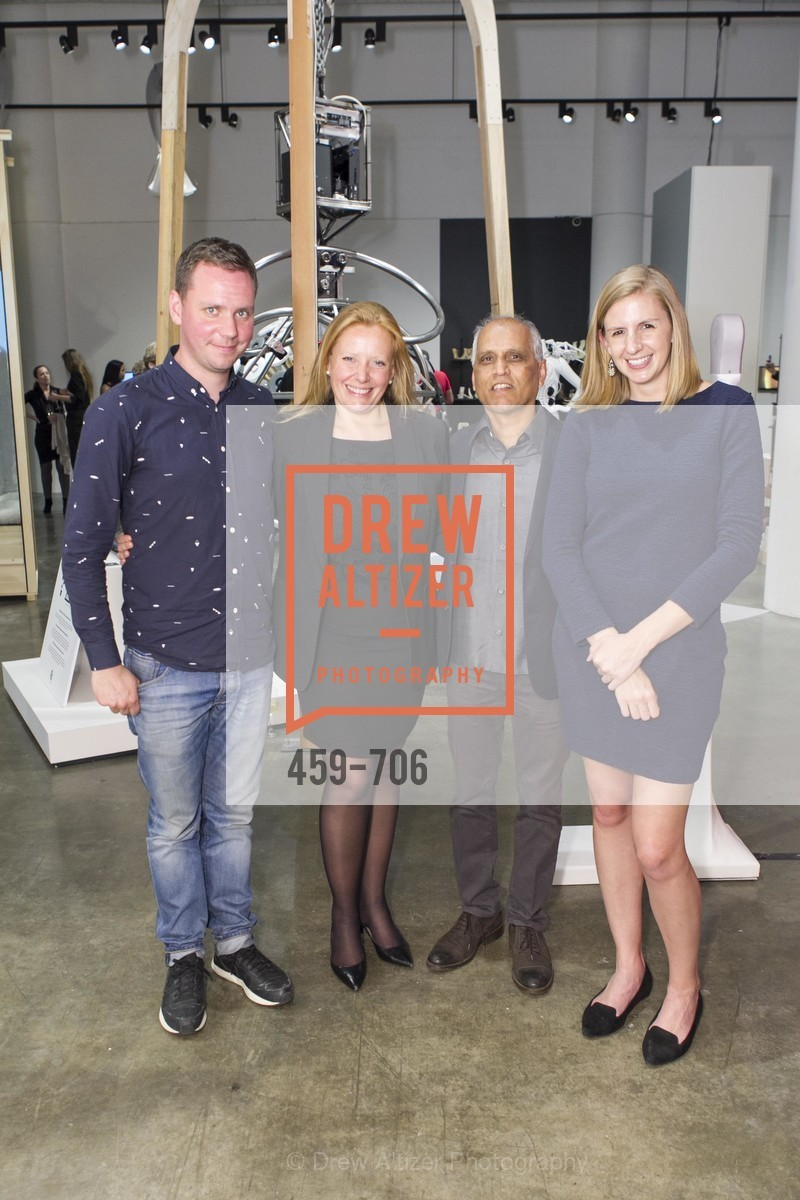 Mike Pelletier, Claire Jacobs, Zahid Sardar, Megan Doyle, Exhibit Opening at the MUSEUM OF CRAFT AND DESIGN - Hands Off: New Dutch Design at the Confluence of Technology & Craft, US, May 8th, 2015,Drew Altizer, Drew Altizer Photography, full-service agency, private events, San Francisco photographer, photographer california