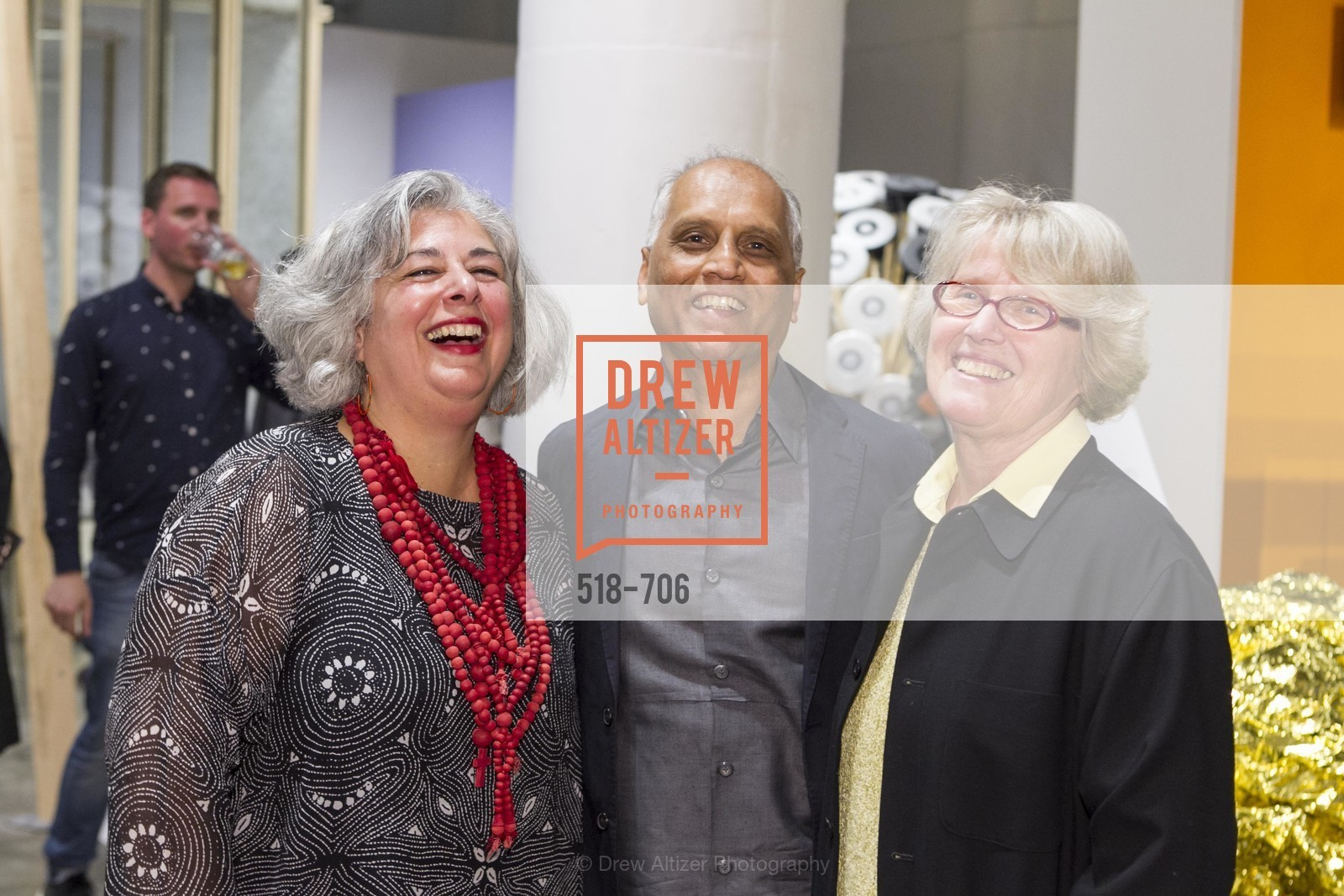 JoAnn Edwards, Zahid Sardar, Agnes Bourne, Exhibit Opening at the MUSEUM OF CRAFT AND DESIGN - Hands Off: New Dutch Design at the Confluence of Technology & Craft, US, May 8th, 2015,Drew Altizer, Drew Altizer Photography, full-service agency, private events, San Francisco photographer, photographer california