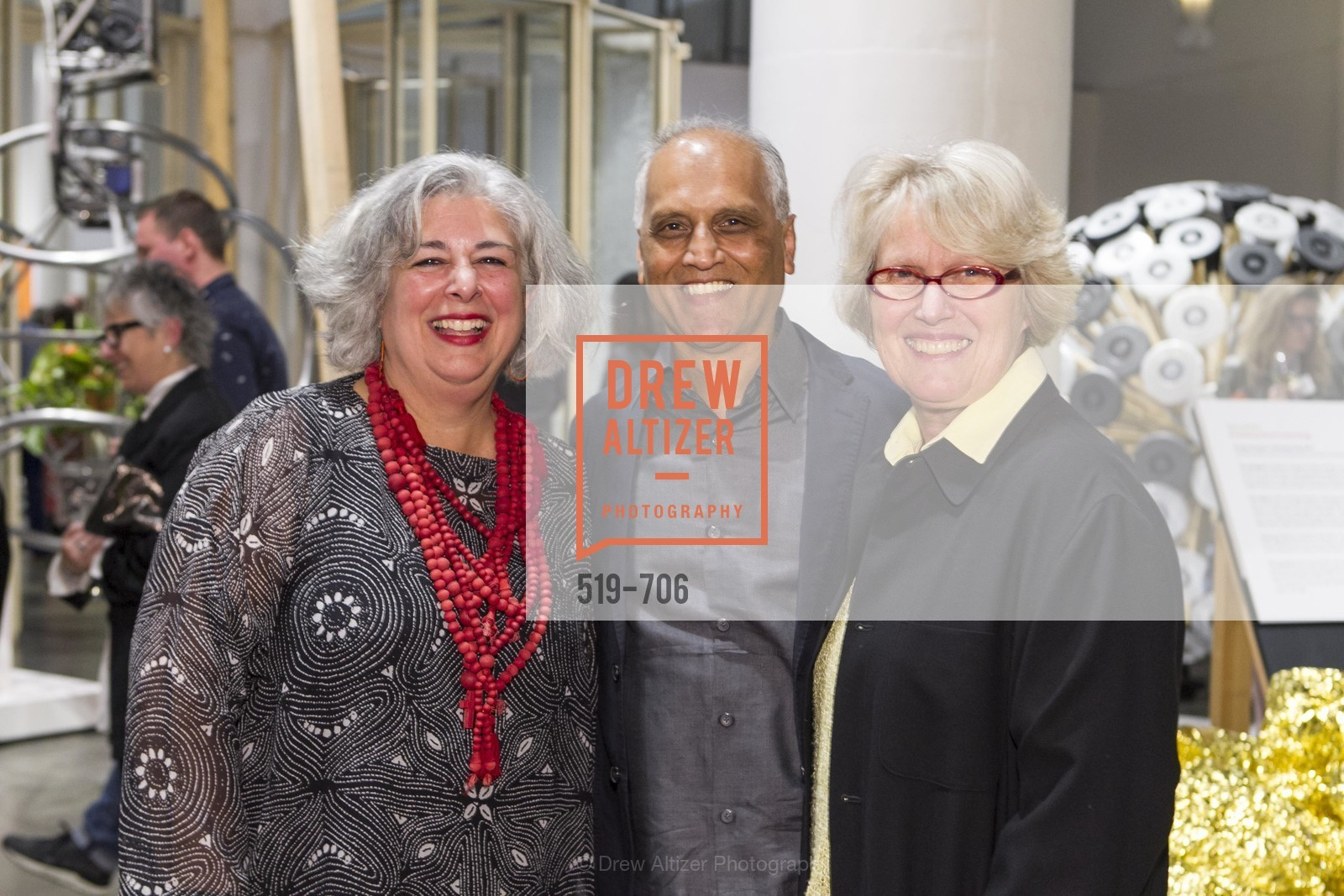 JoAnn Edwards, Zahid Sardar, Agnes Bourne, Exhibit Opening at the MUSEUM OF CRAFT AND DESIGN - Hands Off: New Dutch Design at the Confluence of Technology & Craft, US, May 7th, 2015,Drew Altizer, Drew Altizer Photography, full-service agency, private events, San Francisco photographer, photographer california