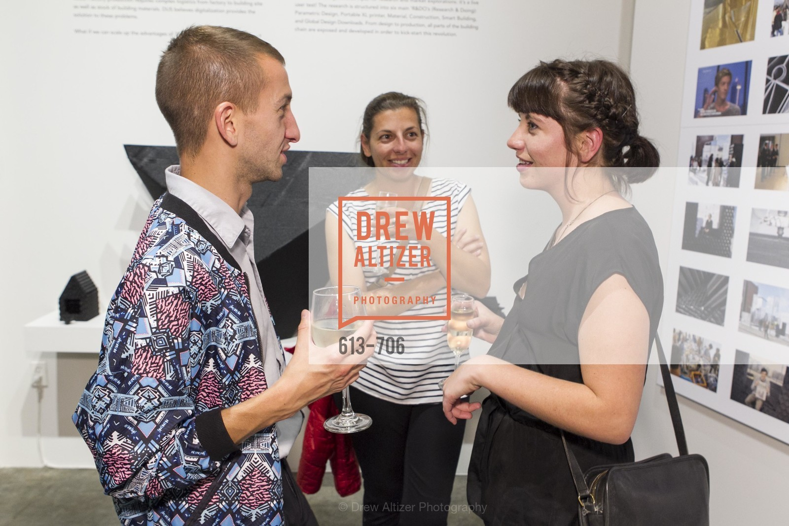 Kaden Freeman, Anne Joiner, Kate Joiner, Exhibit Opening at the MUSEUM OF CRAFT AND DESIGN - Hands Off: New Dutch Design at the Confluence of Technology & Craft, US, May 7th, 2015,Drew Altizer, Drew Altizer Photography, full-service agency, private events, San Francisco photographer, photographer california
