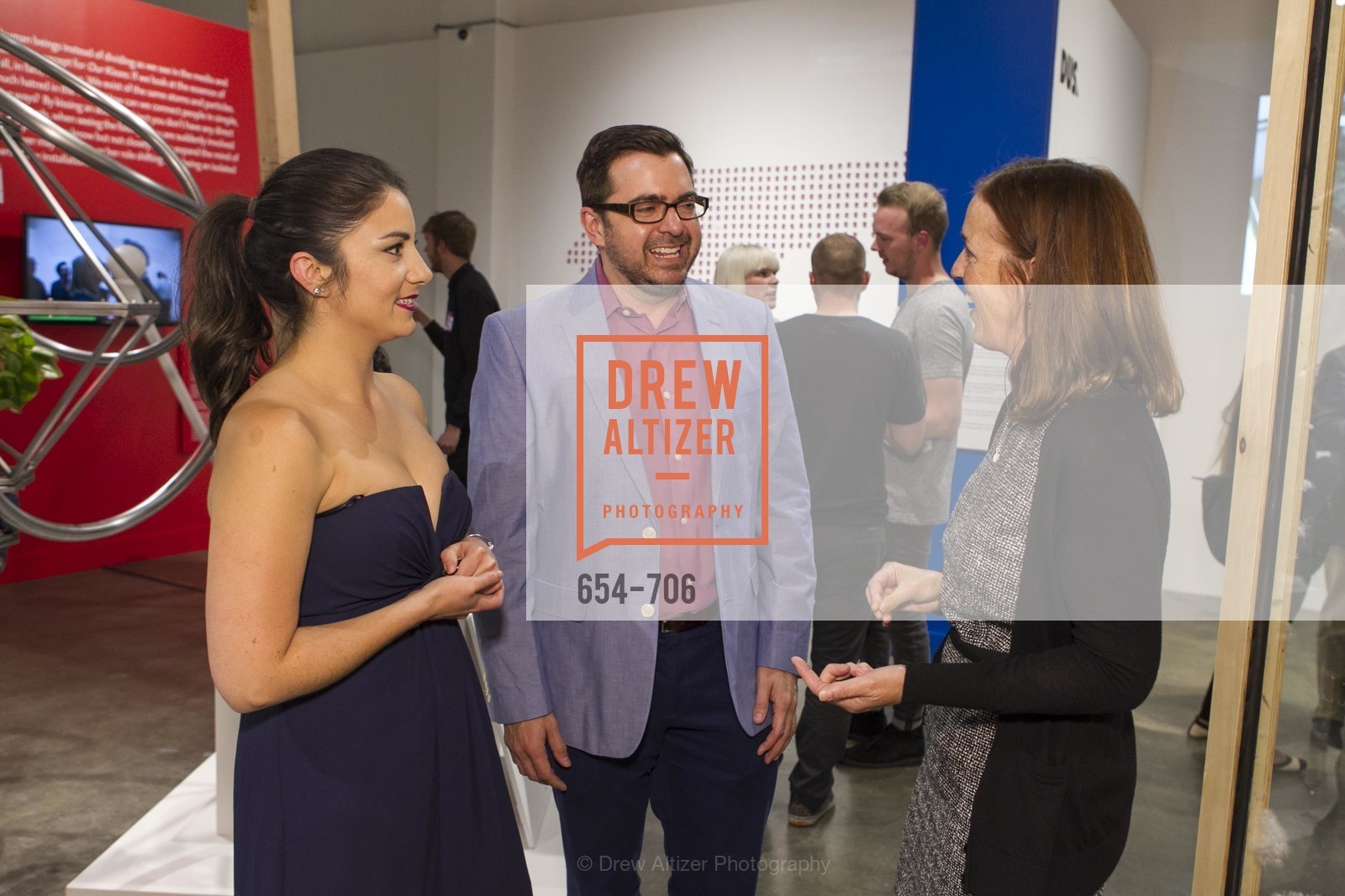 Sara Dermody, Lawrence Mendenhall, Sandra Keeley, Exhibit Opening at the MUSEUM OF CRAFT AND DESIGN - Hands Off: New Dutch Design at the Confluence of Technology & Craft, US, May 8th, 2015,Drew Altizer, Drew Altizer Photography, full-service agency, private events, San Francisco photographer, photographer california