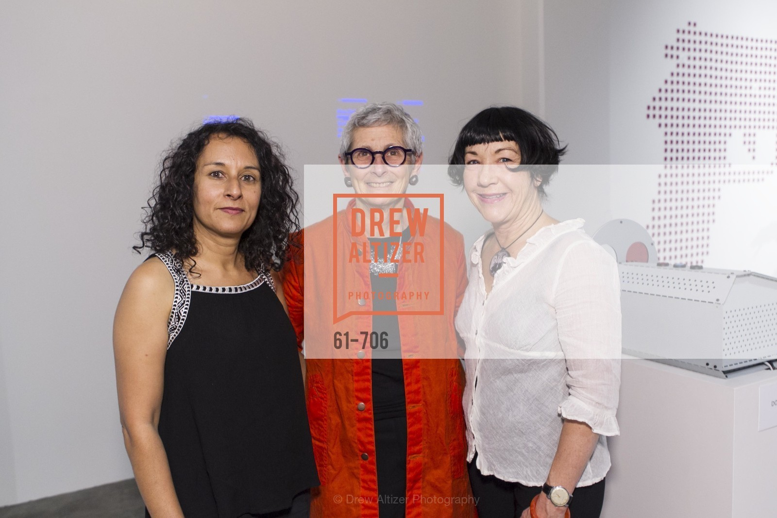 Tasneem Karimbhai, Marion Brenner, Amy van Every, Exhibit Opening at the MUSEUM OF CRAFT AND DESIGN - Hands Off: New Dutch Design at the Confluence of Technology & Craft, US, May 8th, 2015,Drew Altizer, Drew Altizer Photography, full-service agency, private events, San Francisco photographer, photographer california