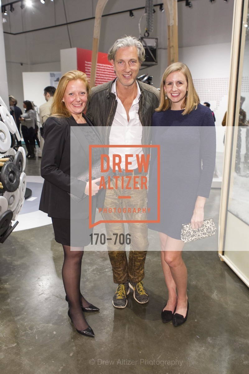 Claire Jacobs, Marcel Wanders, Megan Doyle, Exhibit Opening at the MUSEUM OF CRAFT AND DESIGN - Hands Off: New Dutch Design at the Confluence of Technology & Craft, US, May 7th, 2015,Drew Altizer, Drew Altizer Photography, full-service agency, private events, San Francisco photographer, photographer california