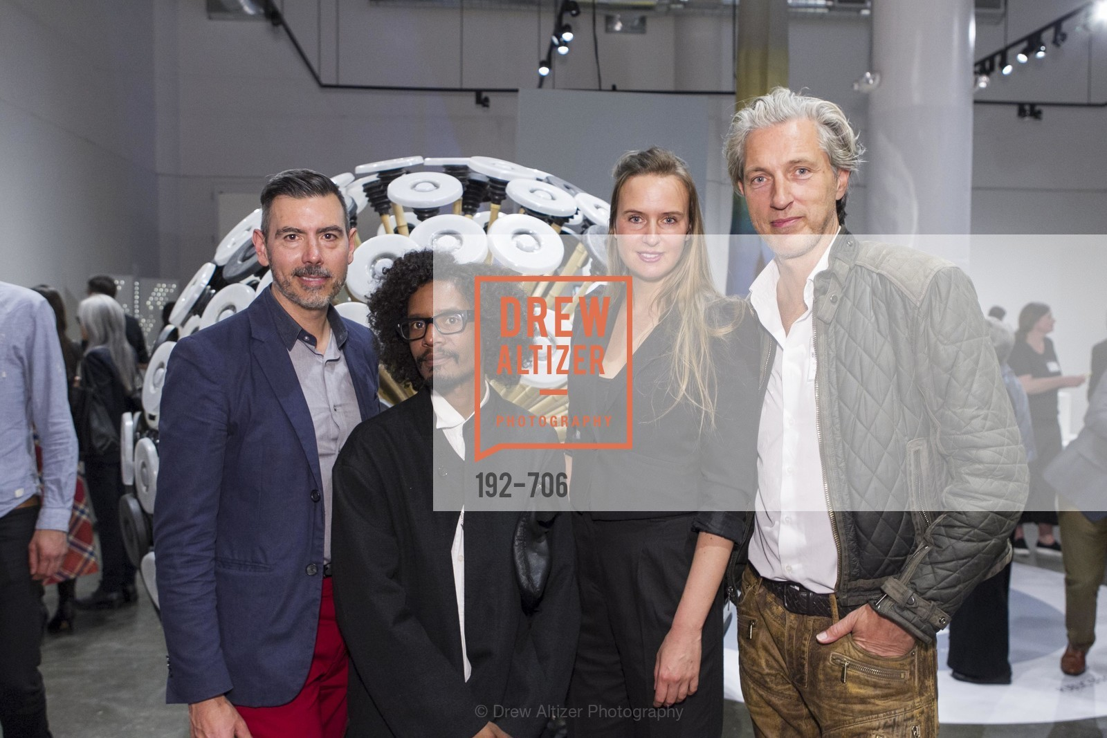 John Macy, Yani Alexi Dominguez, Lonneke Gordijn, Marcel Wanders, Exhibit Opening at the MUSEUM OF CRAFT AND DESIGN - Hands Off: New Dutch Design at the Confluence of Technology & Craft, US, May 7th, 2015,Drew Altizer, Drew Altizer Photography, full-service agency, private events, San Francisco photographer, photographer california
