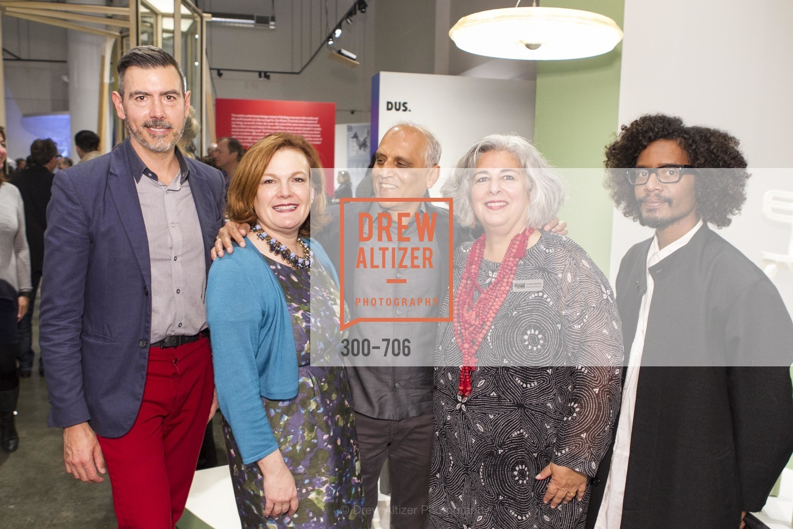 John Macy, Jennifer Raiser, Zahid Sardar, JoAnn Edwards, Yani Alexi Dominguez, Exhibit Opening at the MUSEUM OF CRAFT AND DESIGN - Hands Off: New Dutch Design at the Confluence of Technology & Craft, US, May 8th, 2015,Drew Altizer, Drew Altizer Photography, full-service agency, private events, San Francisco photographer, photographer california