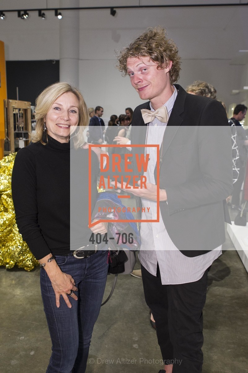Elena Lebedeva, Borre Akkersdijk, Exhibit Opening at the MUSEUM OF CRAFT AND DESIGN - Hands Off: New Dutch Design at the Confluence of Technology & Craft, US, May 8th, 2015,Drew Altizer, Drew Altizer Photography, full-service agency, private events, San Francisco photographer, photographer california