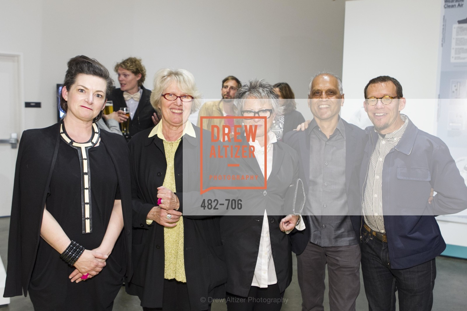 Alisa Carroll, Agnes Bourne, Jennifer Morla, Zahid Sardar, Ted Boerner, Exhibit Opening at the MUSEUM OF CRAFT AND DESIGN - Hands Off: New Dutch Design at the Confluence of Technology & Craft, US, May 8th, 2015,Drew Altizer, Drew Altizer Photography, full-service agency, private events, San Francisco photographer, photographer california