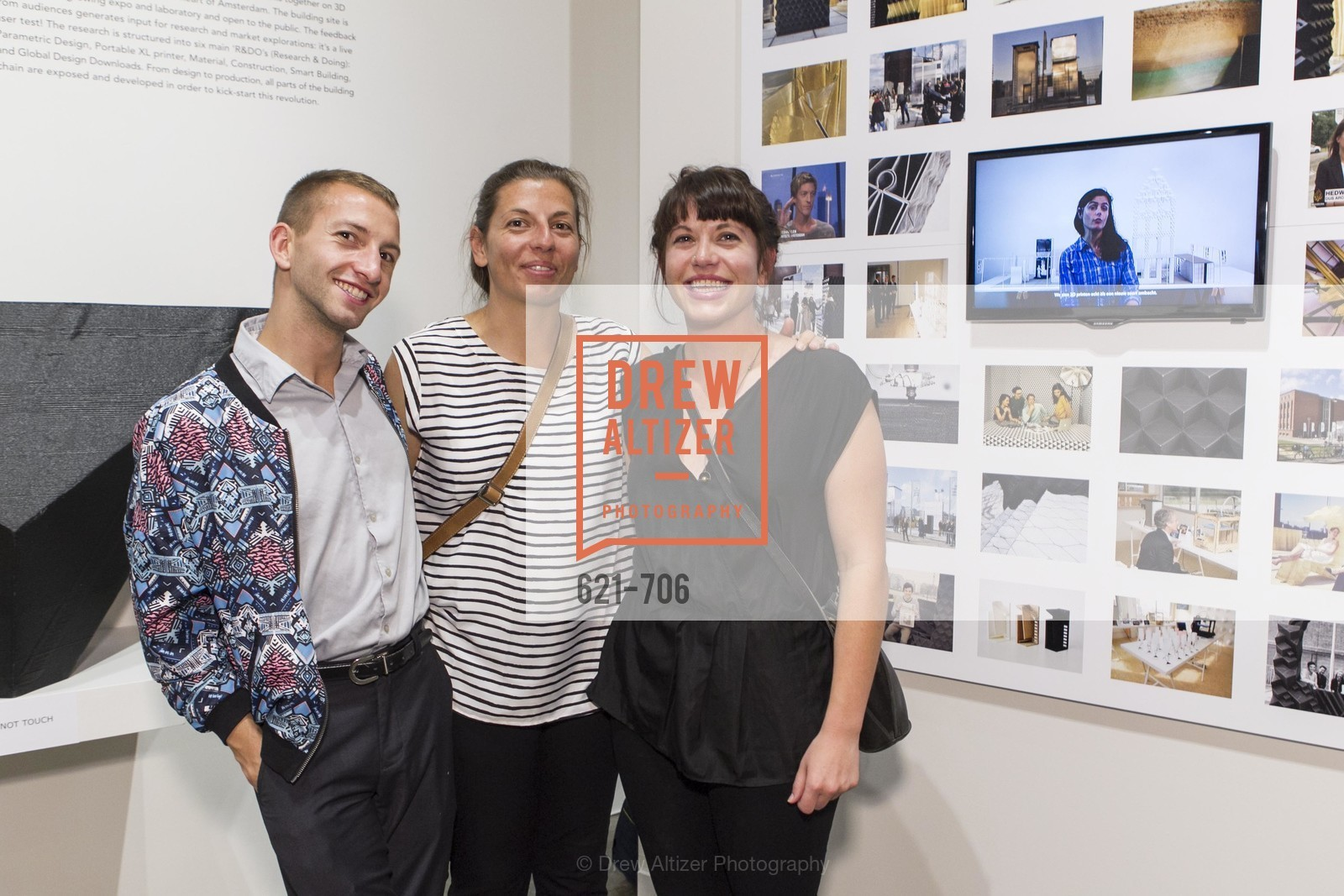 Kaden Freeman, Anne Joiner, Kate Joiner, Exhibit Opening at the MUSEUM OF CRAFT AND DESIGN - Hands Off: New Dutch Design at the Confluence of Technology & Craft, US, May 8th, 2015,Drew Altizer, Drew Altizer Photography, full-service agency, private events, San Francisco photographer, photographer california