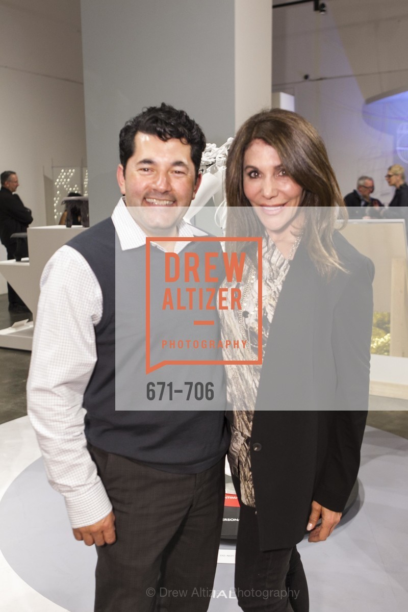 Ruben Martinez, Gioia Gandolfi, Exhibit Opening at the MUSEUM OF CRAFT AND DESIGN - Hands Off: New Dutch Design at the Confluence of Technology & Craft, US, May 7th, 2015,Drew Altizer, Drew Altizer Photography, full-service agency, private events, San Francisco photographer, photographer california