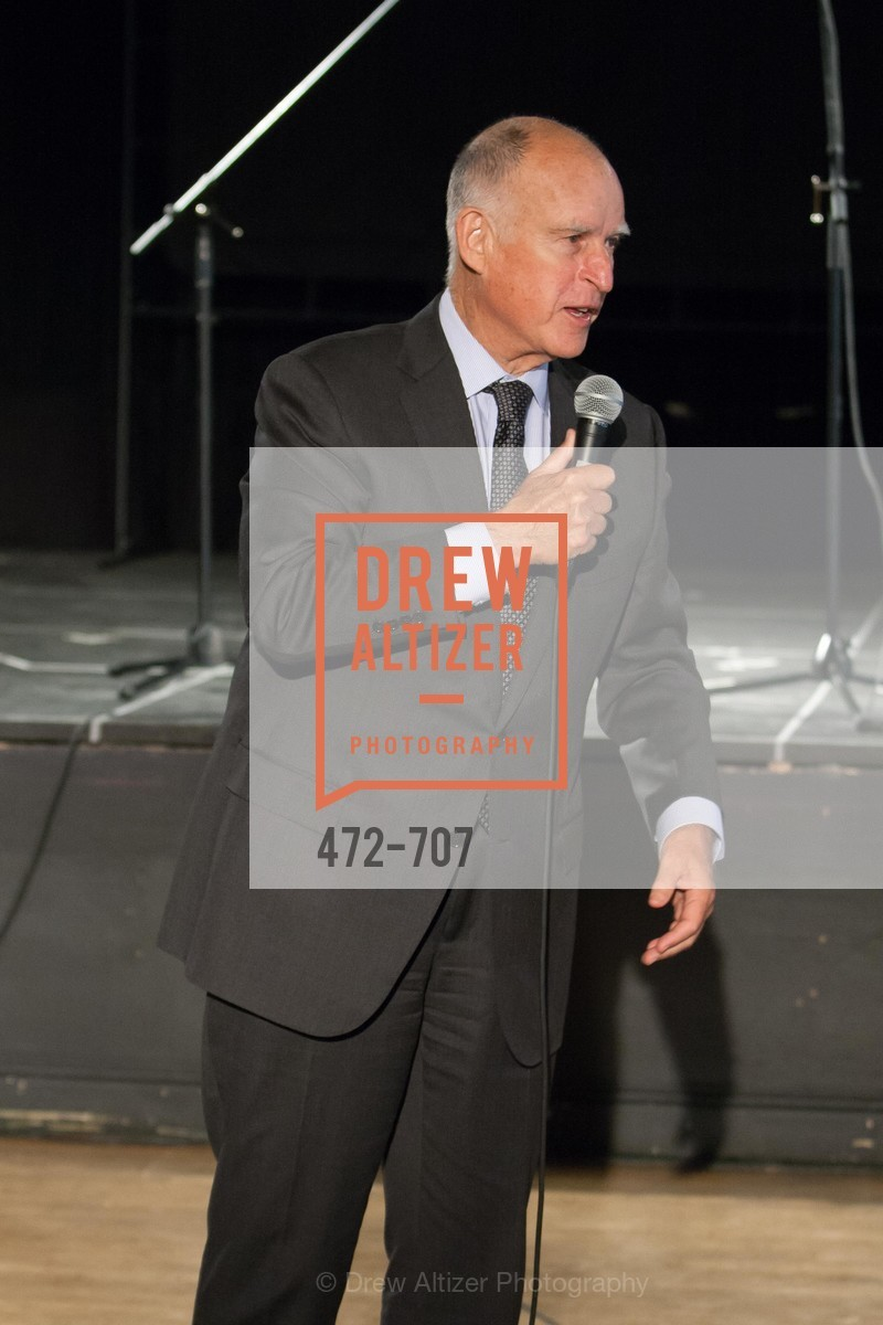 Gov. Jerry Brown, OAKLAND SCHOOL FOR THE ARTS Gala 2015 with Governor Jerry Brown, US, May 7th, 2015,Drew Altizer, Drew Altizer Photography, full-service agency, private events, San Francisco photographer, photographer california