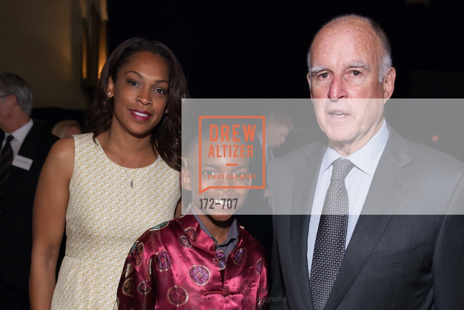 Jena Domingue, Justin Walker, Gov. Jerry Brown, OAKLAND SCHOOL FOR THE ARTS Gala 2015 with Governor Jerry Brown, US, May 8th, 2015,Drew Altizer, Drew Altizer Photography, full-service agency, private events, San Francisco photographer, photographer california