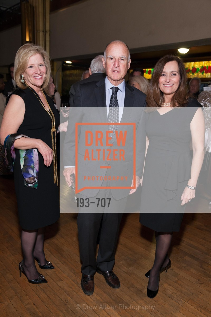 Helen Burt, Gov. Jerry Brown, Geisha Williams, OAKLAND SCHOOL FOR THE ARTS Gala 2015 with Governor Jerry Brown, US, May 8th, 2015,Drew Altizer, Drew Altizer Photography, full-service agency, private events, San Francisco photographer, photographer california