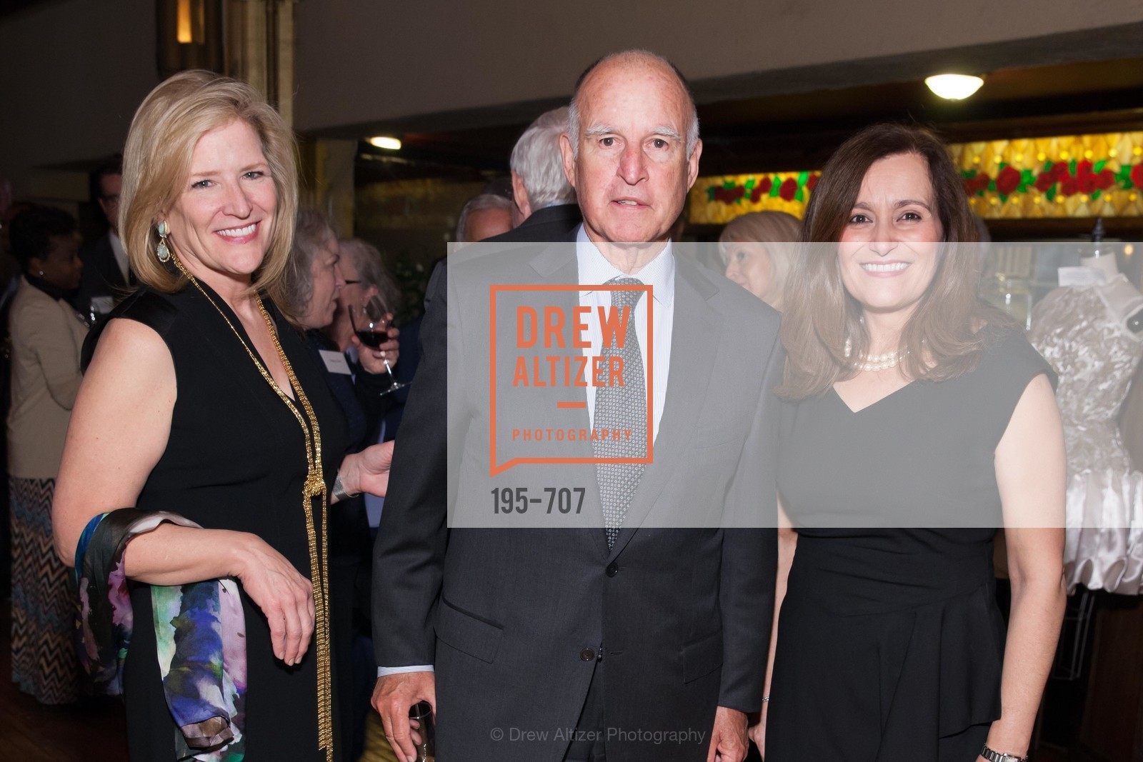 Helen Burt, Gov. Jerry Brown, Geisha Williams, OAKLAND SCHOOL FOR THE ARTS Gala 2015 with Governor Jerry Brown, US, May 7th, 2015,Drew Altizer, Drew Altizer Photography, full-service agency, private events, San Francisco photographer, photographer california