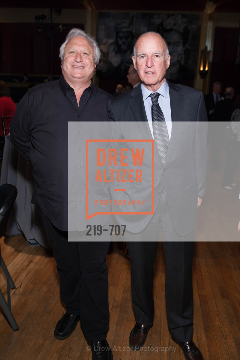 Greg Perloff, Gov. Jerry Brown, OAKLAND SCHOOL FOR THE ARTS Gala 2015 with Governor Jerry Brown, US, May 7th, 2015,Drew Altizer, Drew Altizer Photography, full-service agency, private events, San Francisco photographer, photographer california