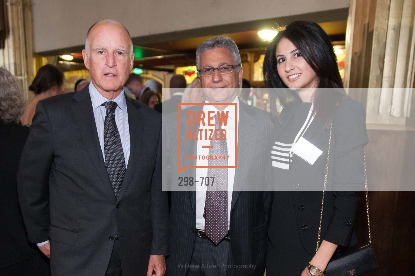 Gov. Jerry Brown, Mori Edgiba, Azin Oujani, OAKLAND SCHOOL FOR THE ARTS Gala 2015 with Governor Jerry Brown, US, May 7th, 2015,Drew Altizer, Drew Altizer Photography, full-service agency, private events, San Francisco photographer, photographer california