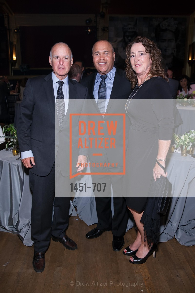 Gov. Jerry Brown, Hank Fore, Linda Fore, OAKLAND SCHOOL FOR THE ARTS Gala 2015 with Governor Jerry Brown, US, May 7th, 2015,Drew Altizer, Drew Altizer Photography, full-service agency, private events, San Francisco photographer, photographer california