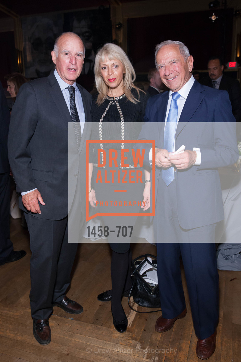 Gov. Jerry Brown, Alexandra Novak, Milan Panic, OAKLAND SCHOOL FOR THE ARTS Gala 2015 with Governor Jerry Brown, US, May 7th, 2015,Drew Altizer, Drew Altizer Photography, full-service agency, private events, San Francisco photographer, photographer california