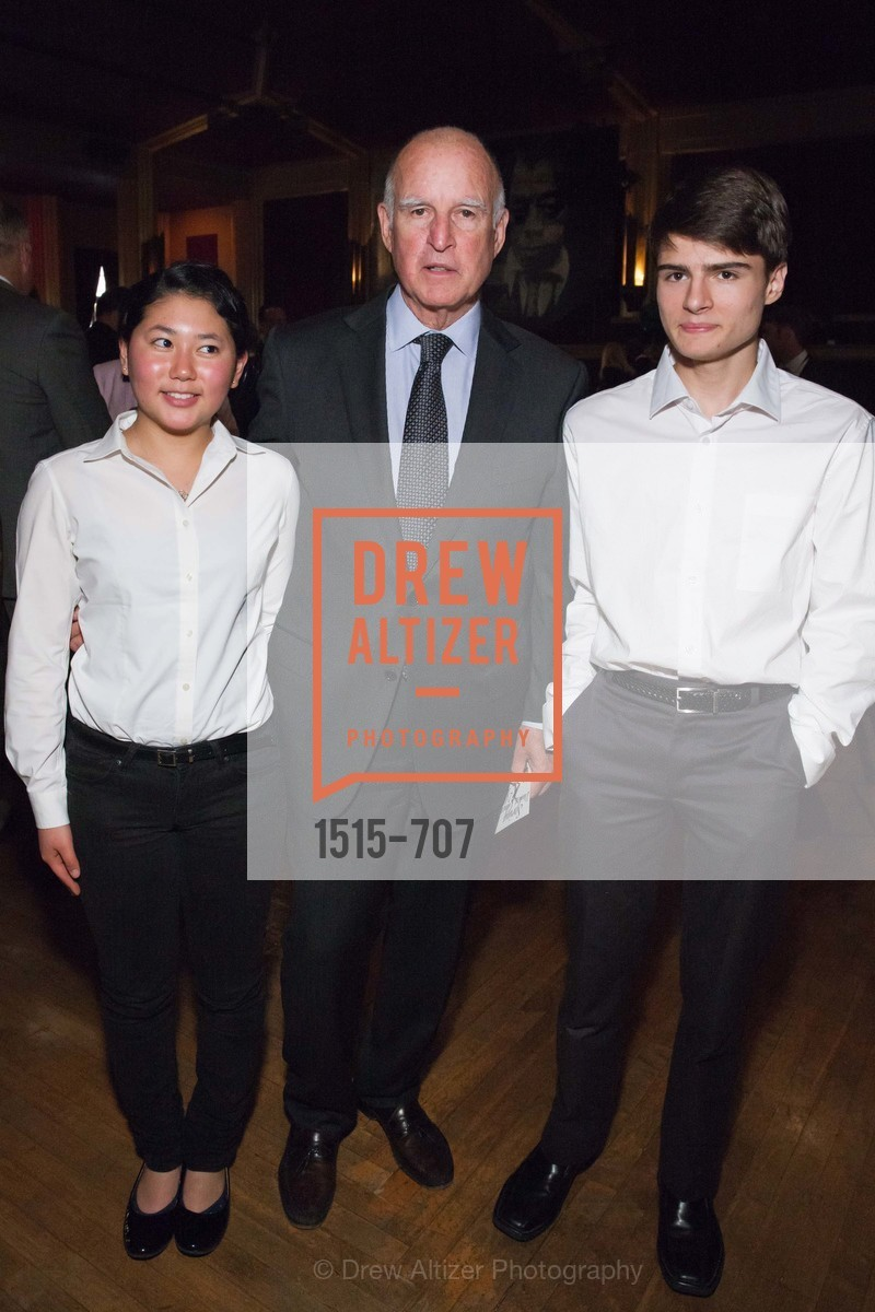 Gov. Jerry Brown, Students, OAKLAND SCHOOL FOR THE ARTS Gala 2015 with Governor Jerry Brown, US, May 7th, 2015,Drew Altizer, Drew Altizer Photography, full-service agency, private events, San Francisco photographer, photographer california