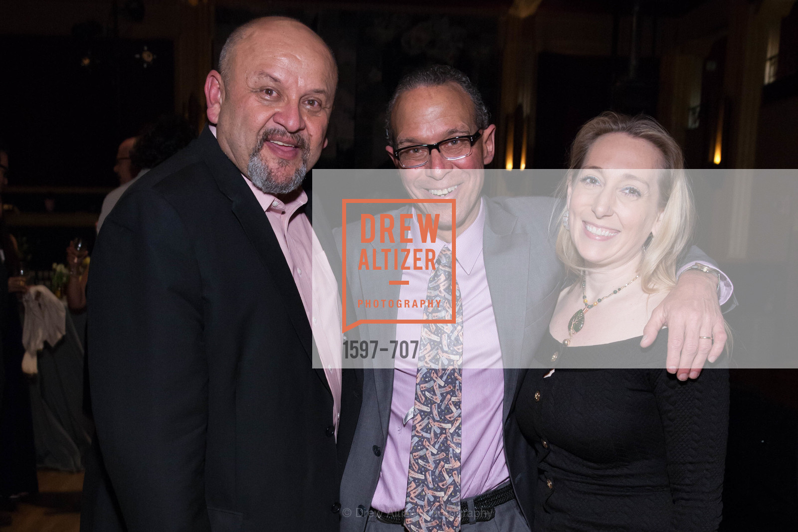 John Garcia, Don Harris, Krista Freelove, OAKLAND SCHOOL FOR THE ARTS Gala 2015 with Governor Jerry Brown, US, May 8th, 2015,Drew Altizer, Drew Altizer Photography, full-service agency, private events, San Francisco photographer, photographer california