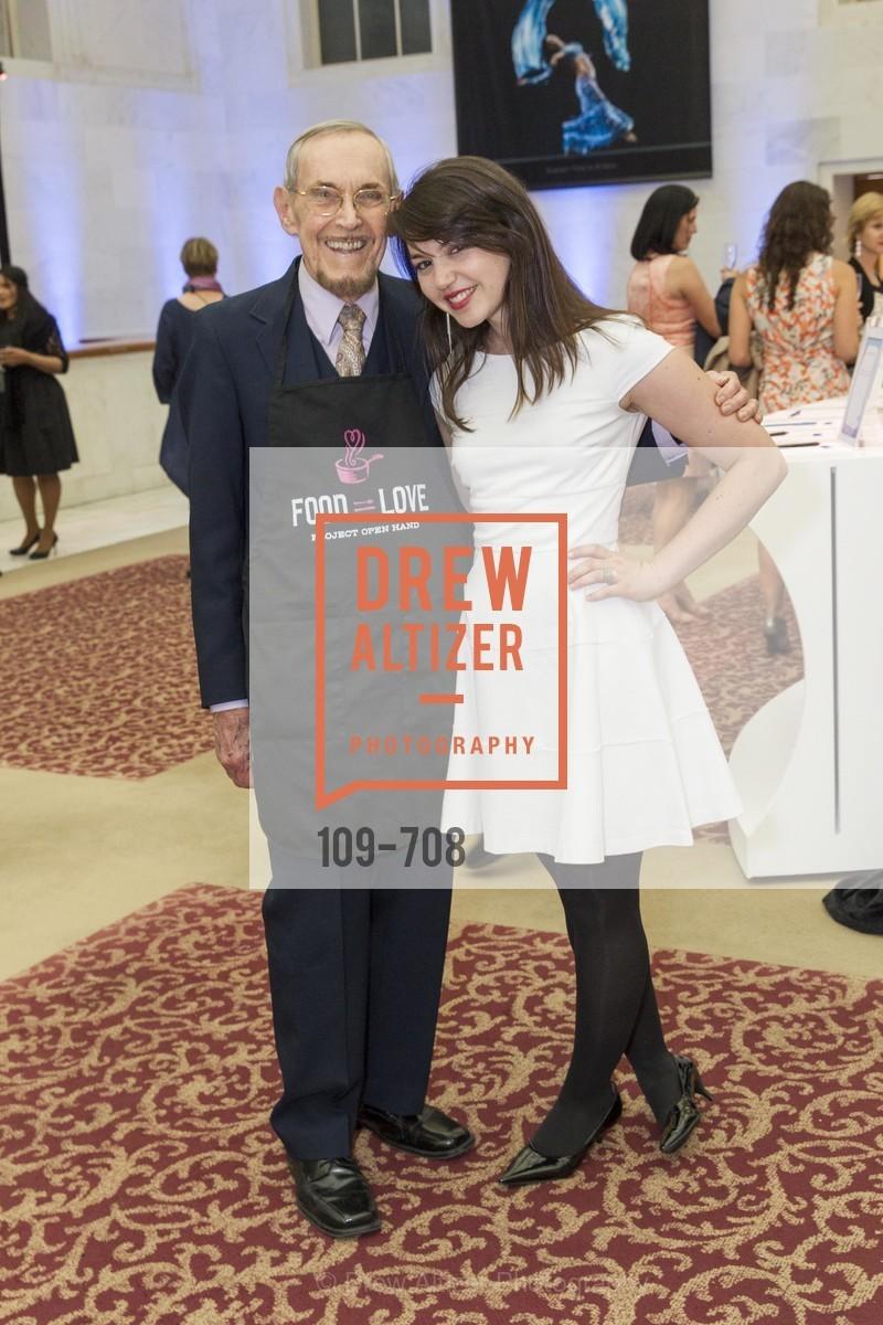 John Borset, Hannah Levinson, PROJECT OPEN HAND Gala