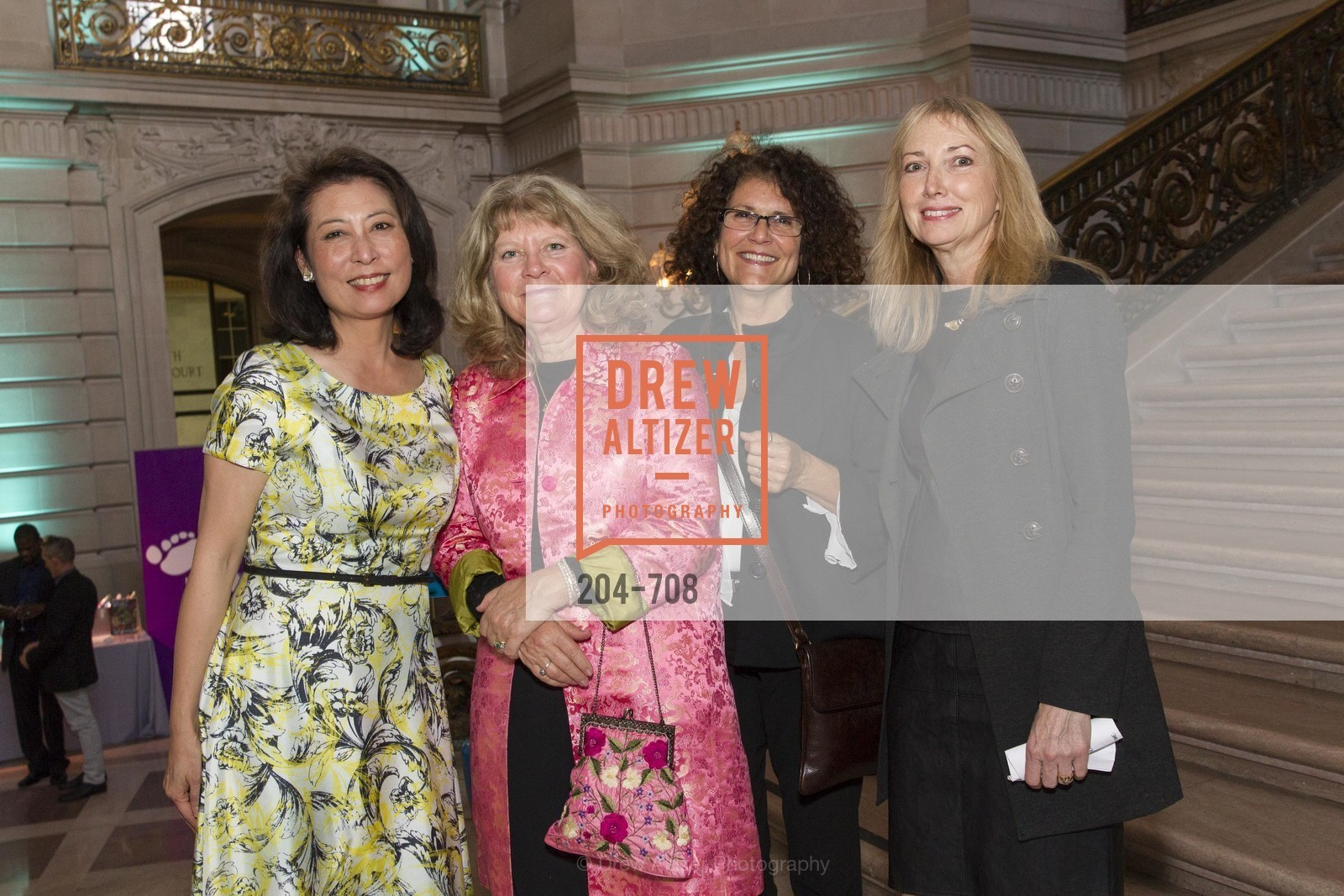 Emerald Yeh, Nancy Bolmeier Fisher, Bonnie Fraenza, Bonnie Rosenstein, PROJECT OPEN HAND Gala