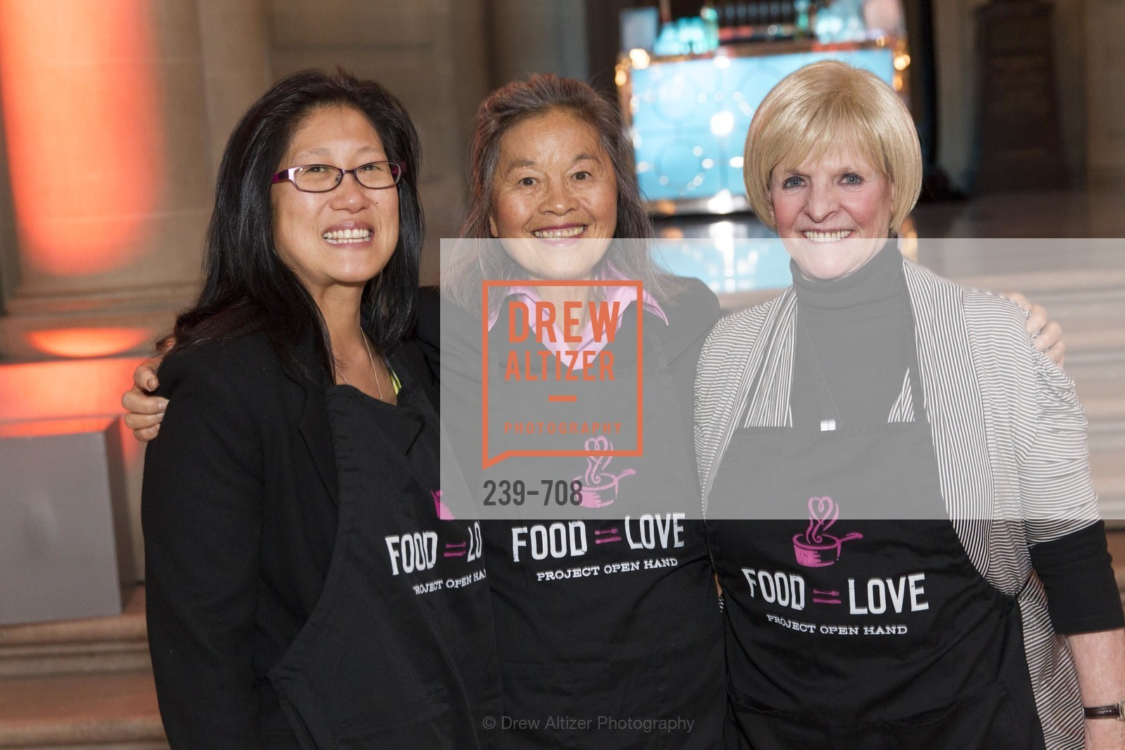 Leslie Chau, Ruby Tsang, Jo Hamilton, PROJECT OPEN HAND Gala