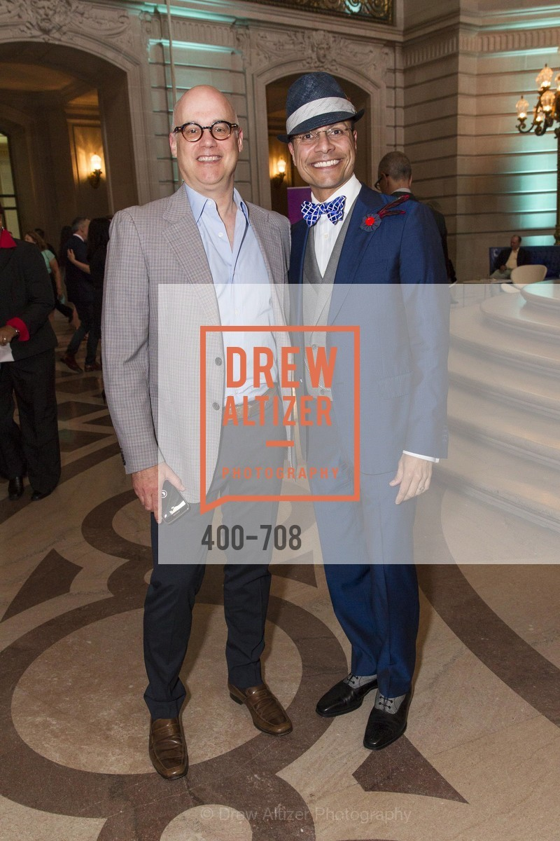 Brett Wesner, Calix Ramos, PROJECT OPEN HAND Gala
