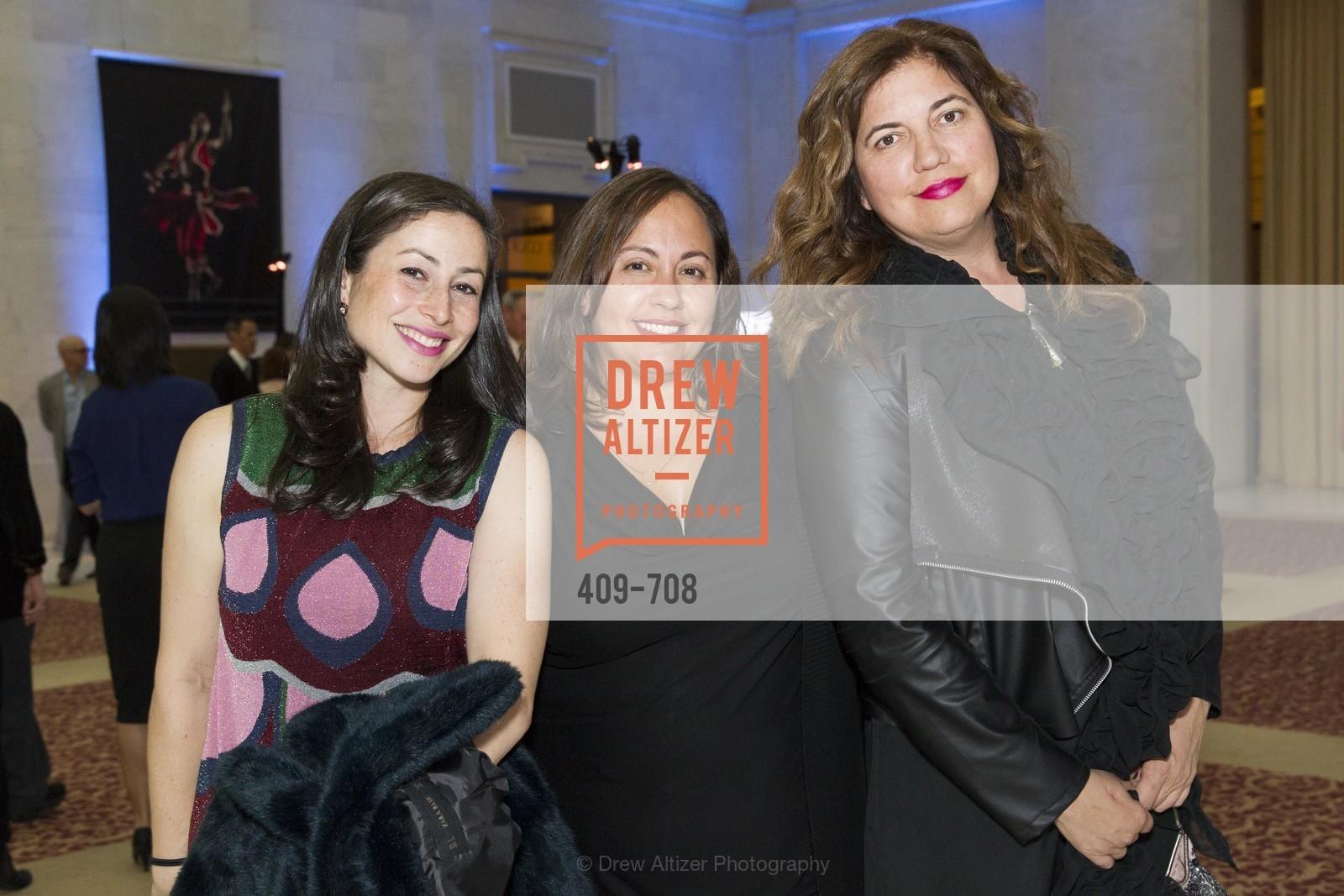 Maya Vosko, Sandra Saberman, Justine McGonagle, PROJECT OPEN HAND Gala